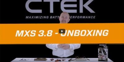 Ładowarka CTEK MXS 3.8A | Unboxing